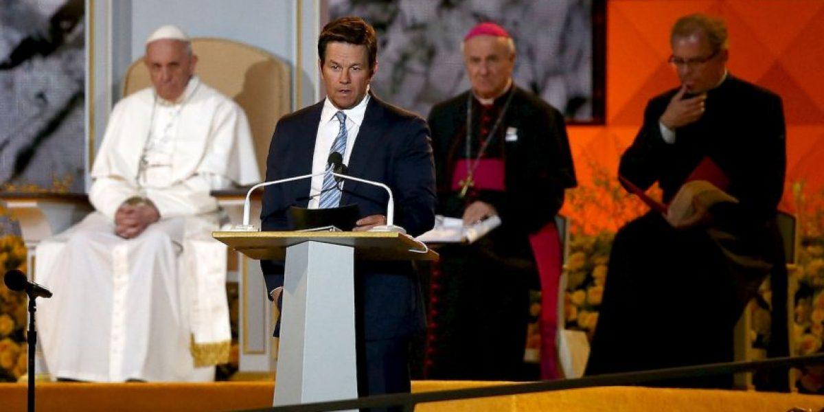 Mark Wahlberg se disculpa con el papa Francisco por