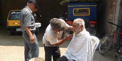 Y a pesar del mal aspecto que tenía, su buena voluntad dio buenos resultados. Foto:Vía facebook.com/municipalidaddeferrenafe