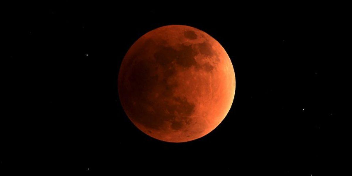 Fotos: Así se vio la impresionante luna roja en distintas partes del mundo