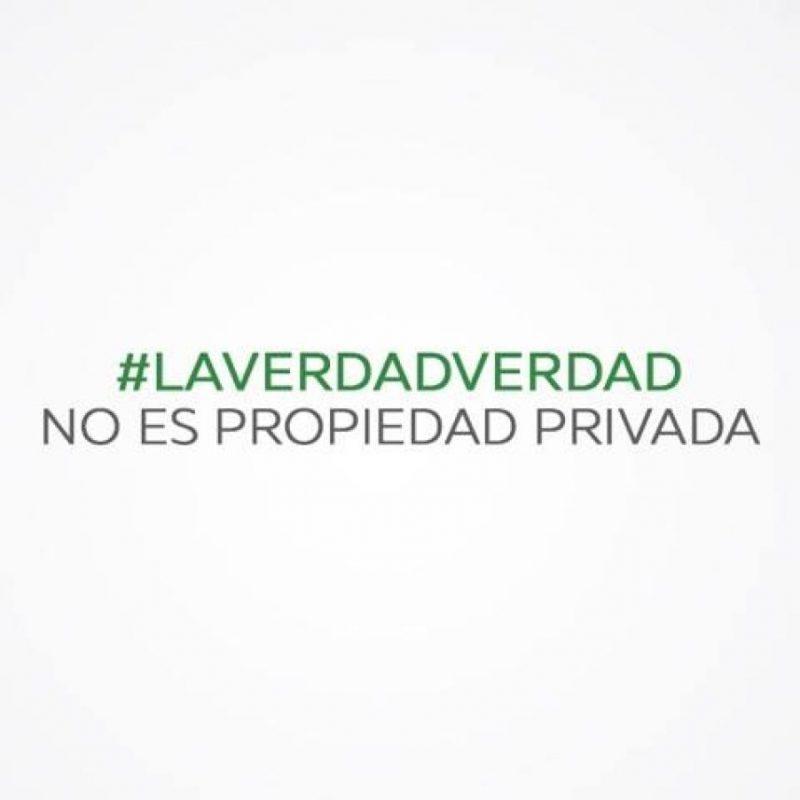 LaVerdadVerdad no es propiedad privada