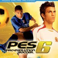 """""""Pro Evolution Soccer 6"""" con el brasileño Adriano y el español Cesc Fábregas. Foto:Konami"""