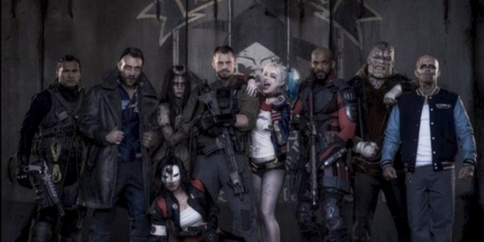 """El estreno de """"Suicide Squad"""" está programado para el 5 de agosto de 2016, en Estados Unidos. Foto:vía twitter.com/davidayermovies"""