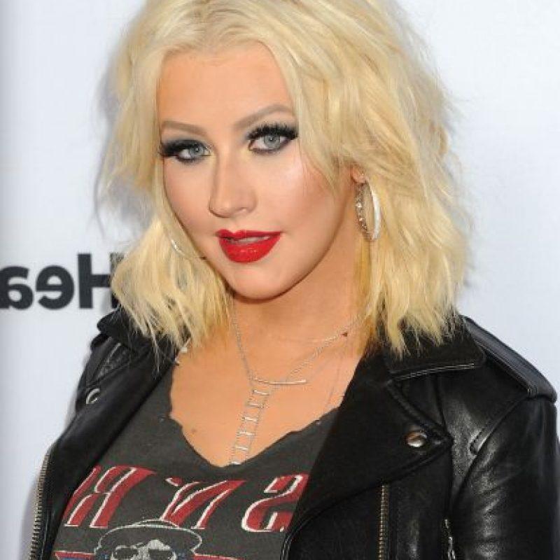 La cantante Christina Aguilera con… Foto:Getty Images