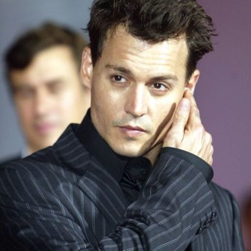 Johnny Depp con… Foto:Getty Images