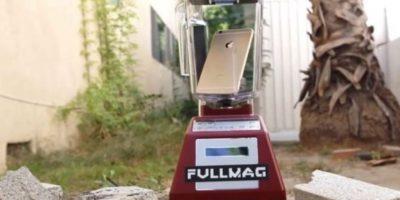 La licuadora ante el iPhone 6. Foto:vía FullMag
