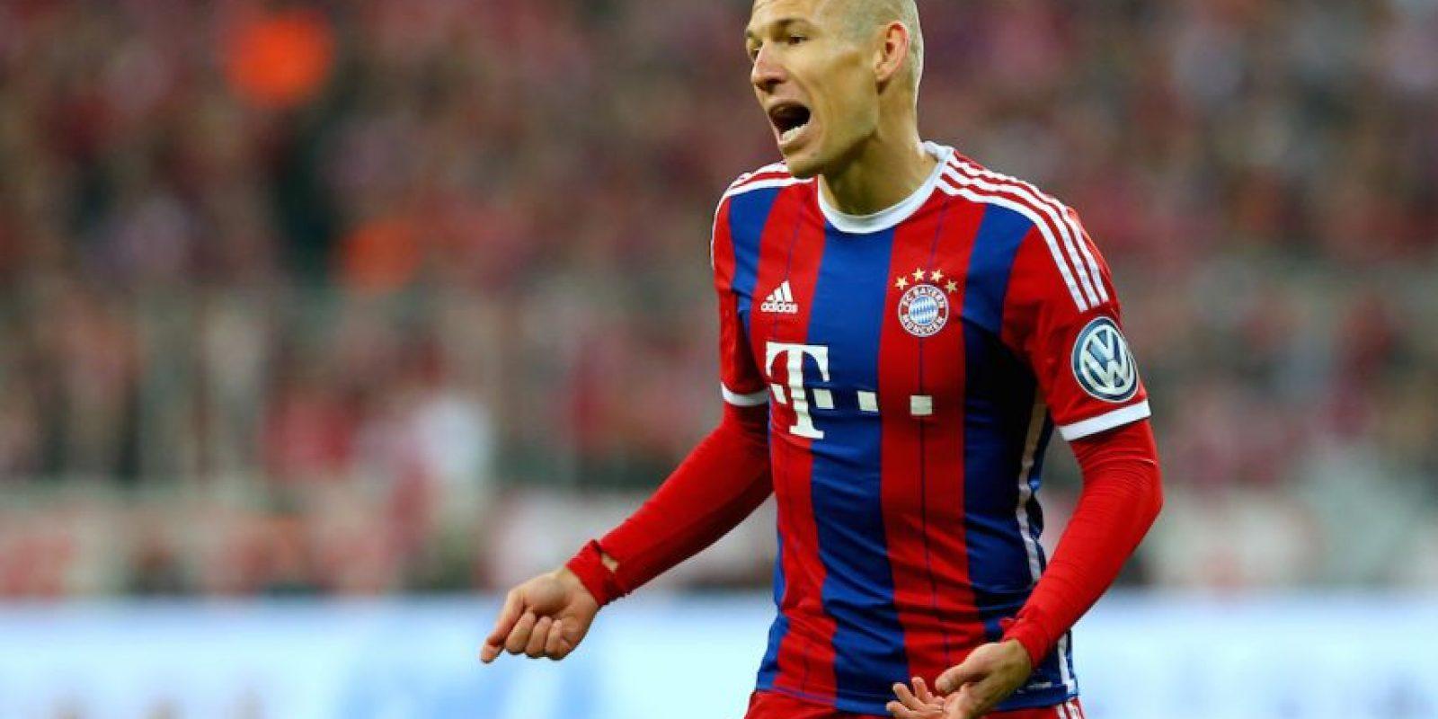 Arjen Robben está fuera de circulación en estos momentos. Foto:Getty Images