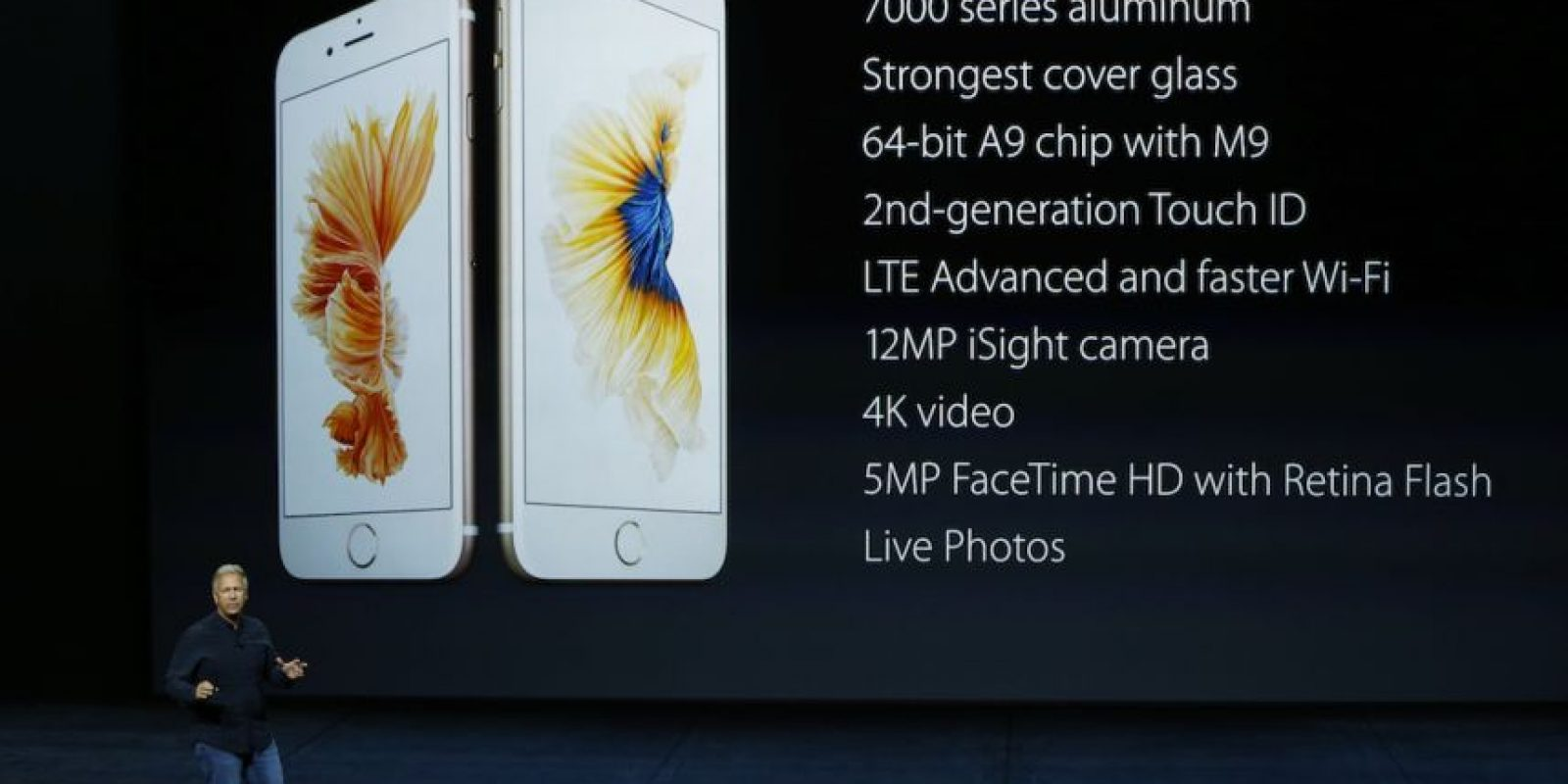 Dimensiones: 138.3 * 67.1 * 7.1 mm. Foto: Apple