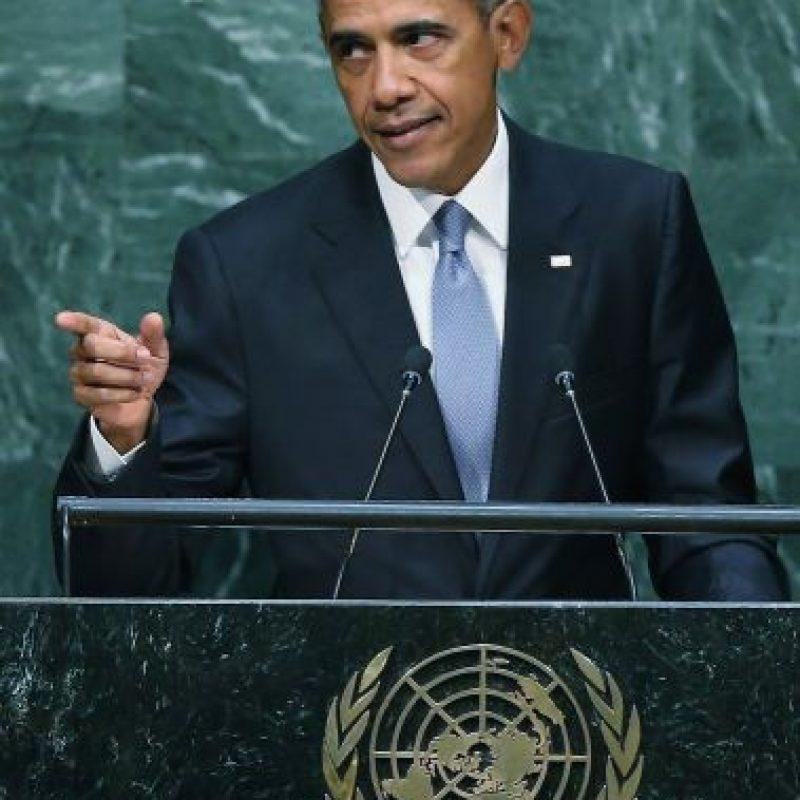 También habló sobre la situación en Siria. Foto:Getty Images