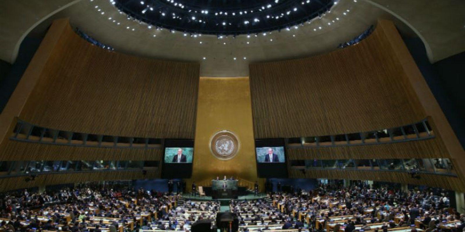 Este lunes ambos mandatarios se presentaron frente la Asamblea General de las Naciones Unidas. Foto:Getty Images