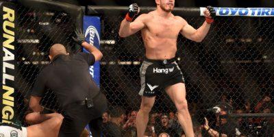La exconejita mantuvo una relación en 2010 con el peleador Josh Koscheck Foto:Getty Images