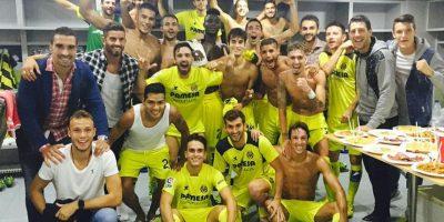Video: Así festejó el Villarreal su liderato en la Liga de España