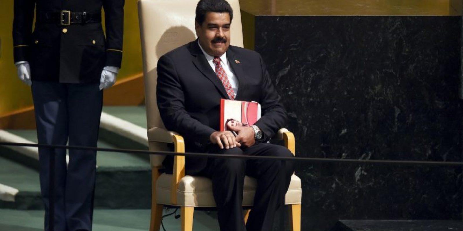 Nicolás Maduro, presidente de Venezuela Foto:AFP