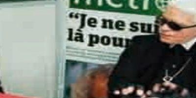 Karl Lagerfeld. Tuvo a su cargo la sede de Paris