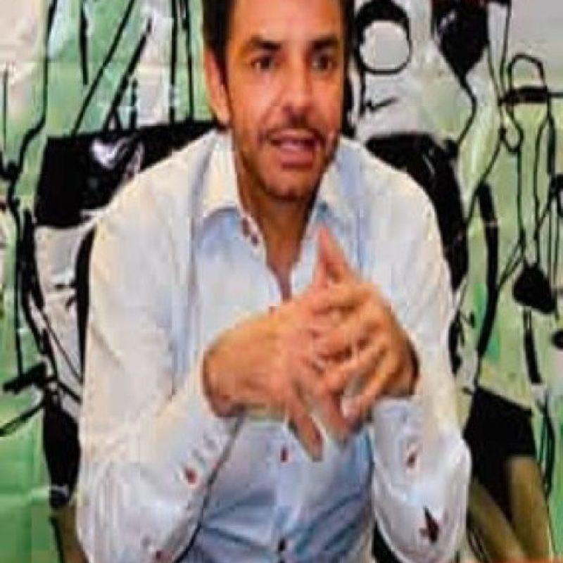 Eugenio Derbez. Dijo presente en la sede de México
