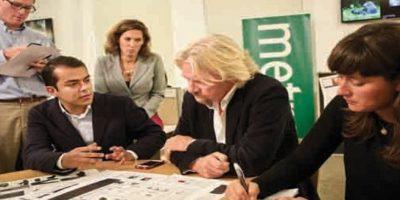Una más de Richar Branson. El dueño de Virgin vivió la experiencia