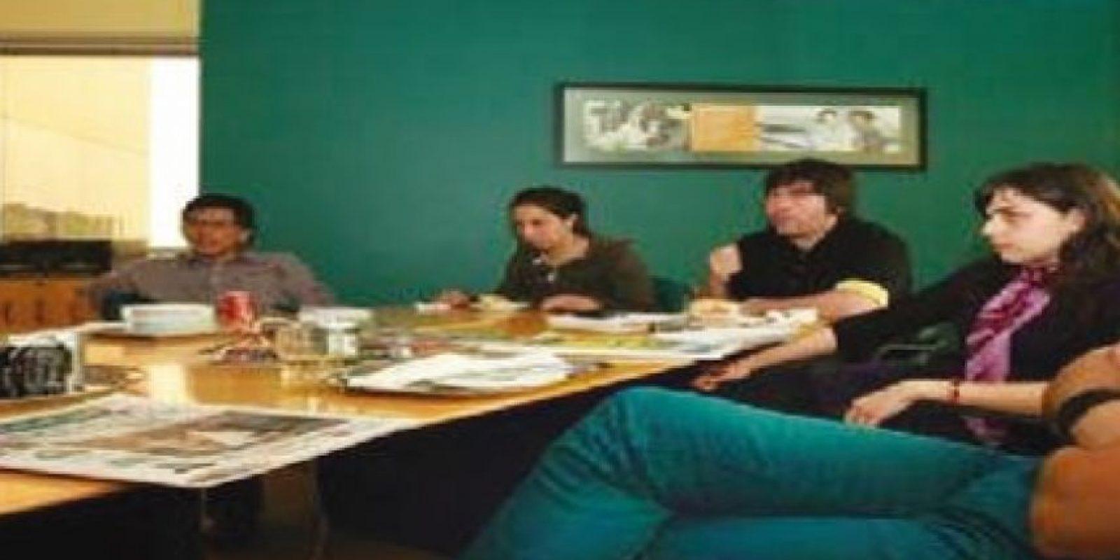 """Beto Cuevas. También dijo """"soy editor"""" en la sede de Chile"""