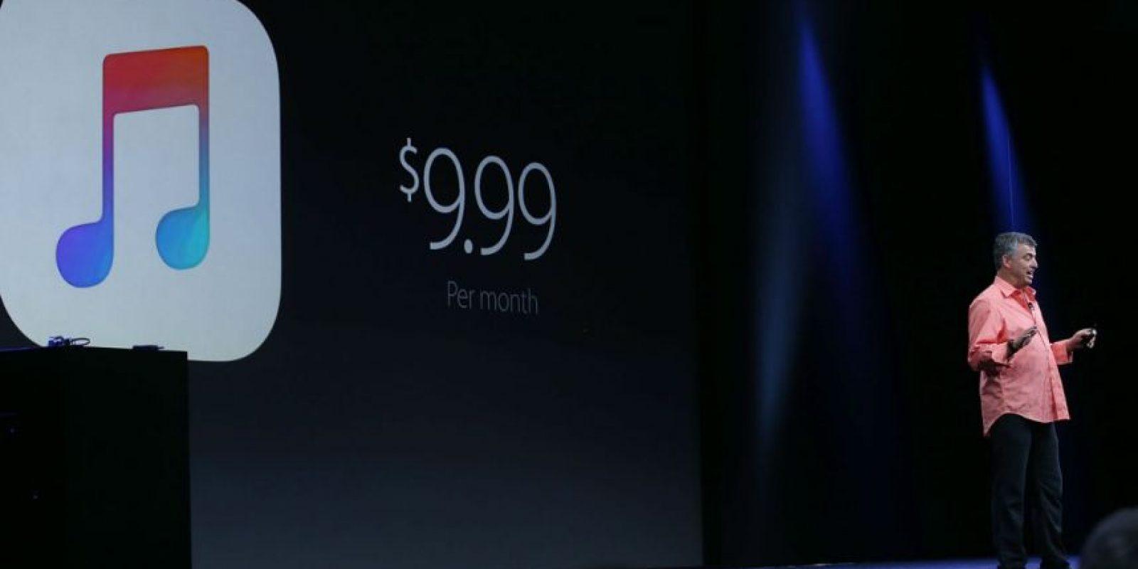 Apple Music cobra a sus usuarios cuando terminan los tres meses de prueba. Foto:Getty Images