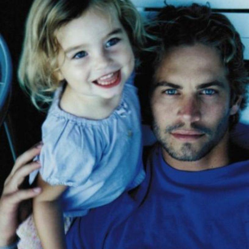Su hija, Meadow, vivía con él desde 2011 y acababa de cumplir 15 años. Foto:vía instagram.com/meadowwalker