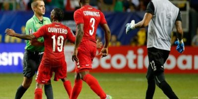6. México vs. Panamá. Semifinal Copa Oro 2015 Foto:Getty Images