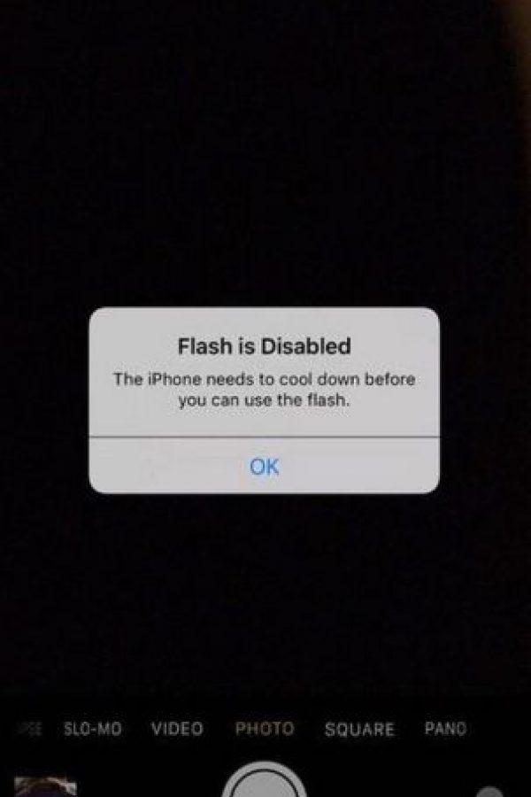 Usuarios señalan que el iPhone 6s tiene un problema de sobrecalentamiento. Foto:vía Twitter.com