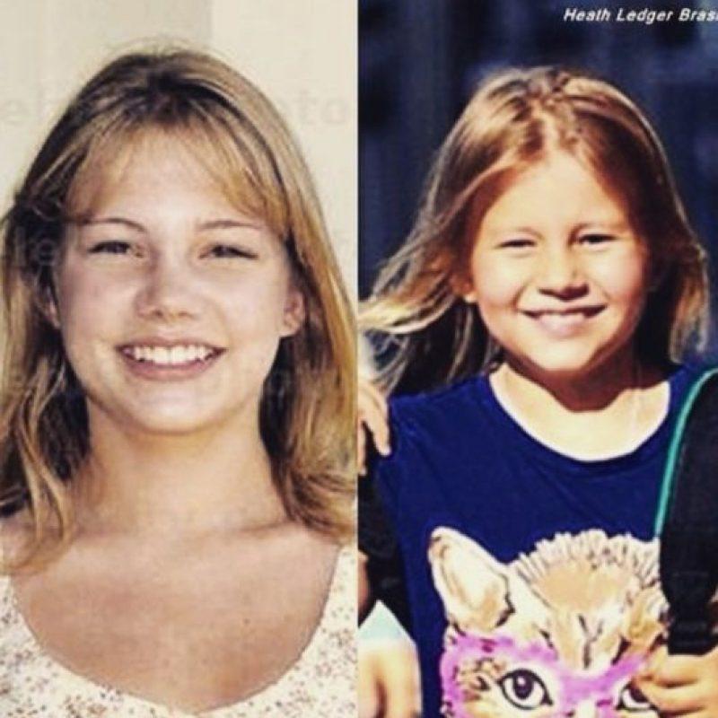 """""""Matilda es una chica expresiva, creativa y guapa que tiene la fortuna de tener una madre con los pies en la tierra"""", explicó Kate Ledger, la hermana del fallecido actor. Foto:vía instagram.com/heathcliffandrewledger"""