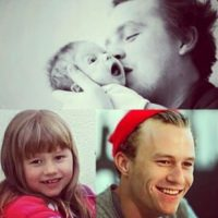 Matilda tenía tres años cuando Ledger murió, víctima de una sobredosis. Foto:vía instagram.com/heathcliffandrewledger
