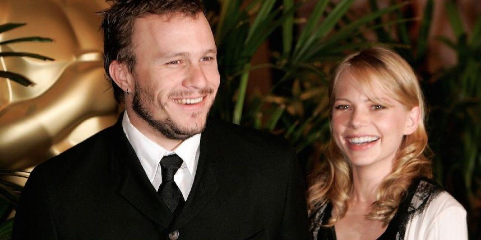 """El actor se enamoró a primera vista y luego del estreno, ya había conquistado a la estrella de """"Dawson's Creek"""". Foto:Getty Images"""