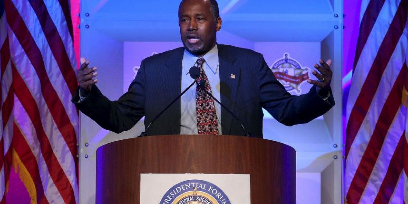 Forma parte de los precandidatos del Partido Republicano. Foto:Getty Images