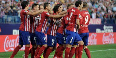 Atlético de Madrid (España) recibe al Benfica (Portugal) en el Vicente Calderón. Foto:Getty Images