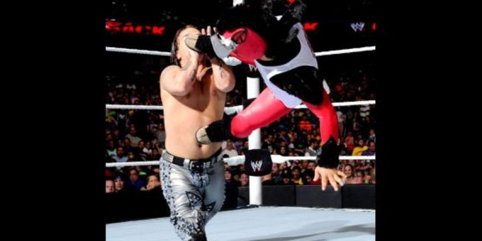 Forma parte de la WWE desde 2006. Foto:WWE