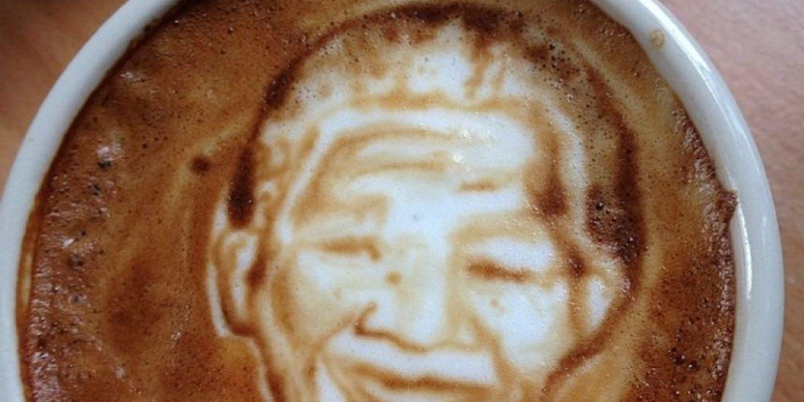Nelson Mandela Foto:Vía Instagram @baristart