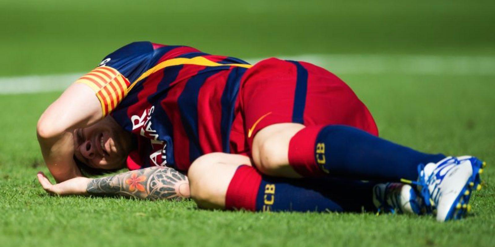 """El doctor Vicente Concejero, jefe de la Unidad de Rodilla de la Clínica CEMTRO de Madrid, comentó que este tipo de lesión """"normalmente no deja secuelas porque es una lesión aislada y frecuente en el fútbol"""". Foto:Getty Images"""