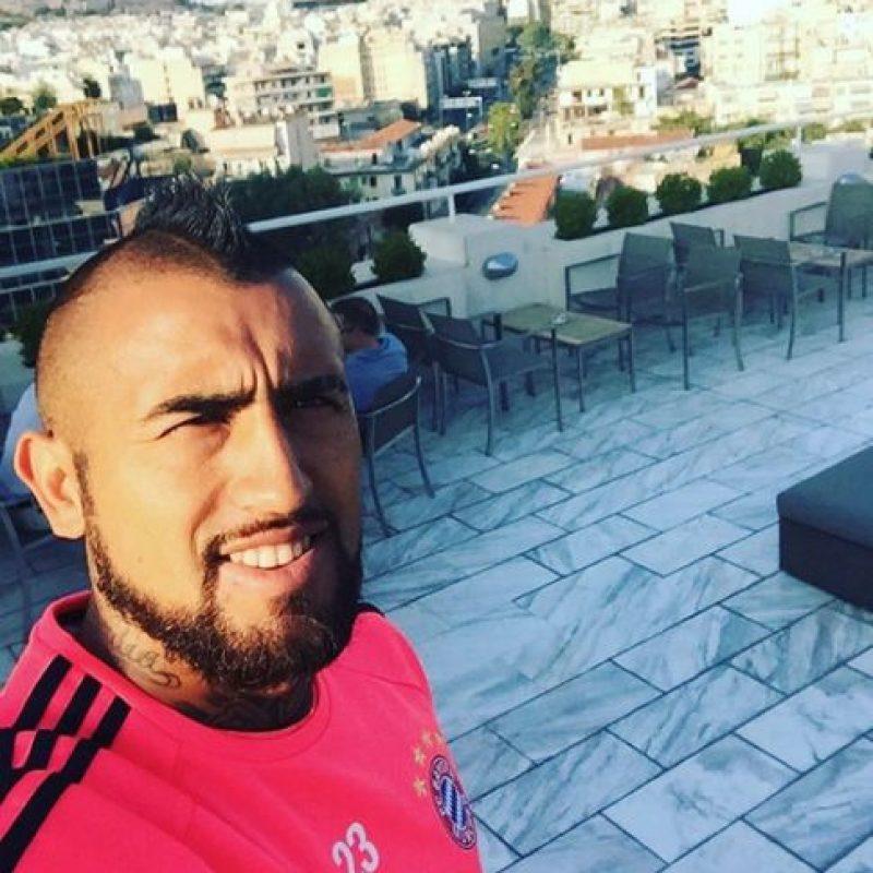 4. Arturo Vidal (Bayern Munich/Chile) Foto:Vía instagram.com/KingArturo23