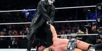 Peleó contra Seth Rollins por el Campeonato del Mundo de la WWE, pero fue derrotado. Foto:WWE