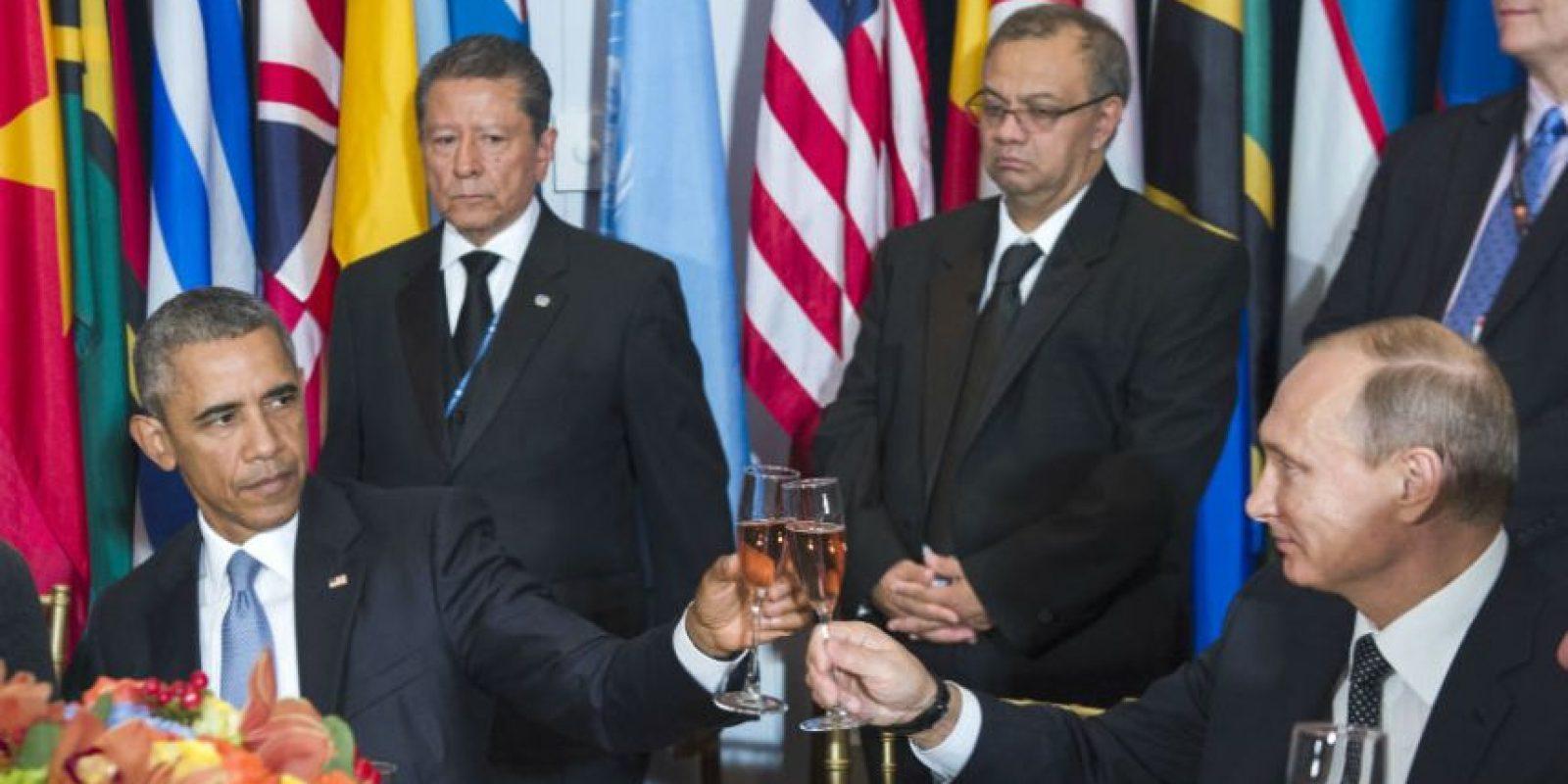 Y sugirió que Rusia se debería hacer cargo del conflicto en Siria. Foto:AFP