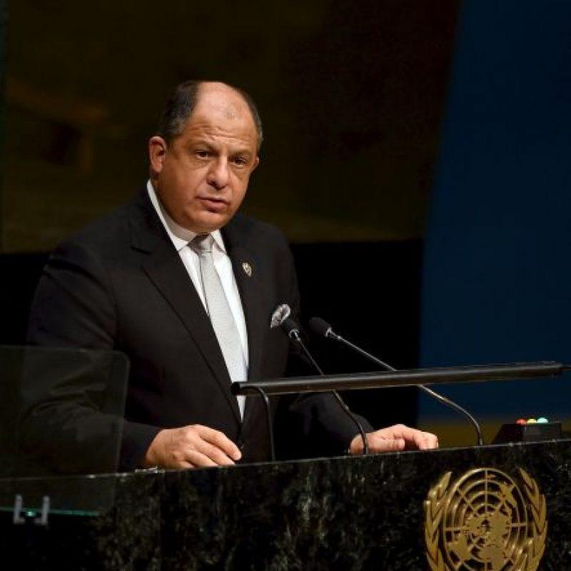 """""""El desarrollo sostenible -tema principal de esta Asamblea-, no puede ser posible sin la paz, ni la paz puede existir sin el desarrollo sostenible"""", expresó. Foto:AFP"""