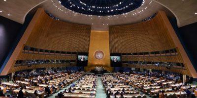 """Quien pidió a los demás países """"reconocer a Palestina"""". Foto:AFP"""