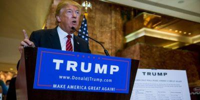 El precandidato estadounidense Donald Trump respalda al presidente ruso Vladimir Putin respecto a la guerra en Siria. Foto:AFP
