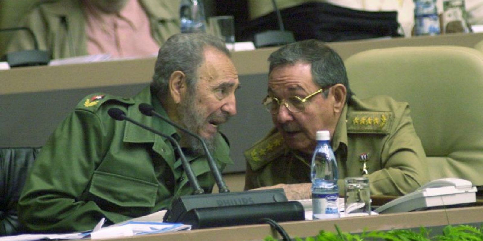 Actualmente un discurso en la ONU dura aproximadamente 40 minutos. Castro habló durante cuatro horas con 29 minutos. Foto:Getty Images
