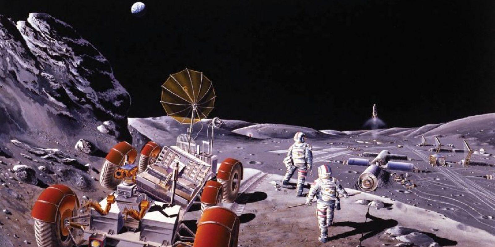 Llevar de nuevo un hombre a la Luna costaría relativamente poco: unos mil millones, según un estudio reciente Foto:Wikipedia Commons