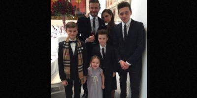 La familia Beckham es más rica que la reina de Inglaterra