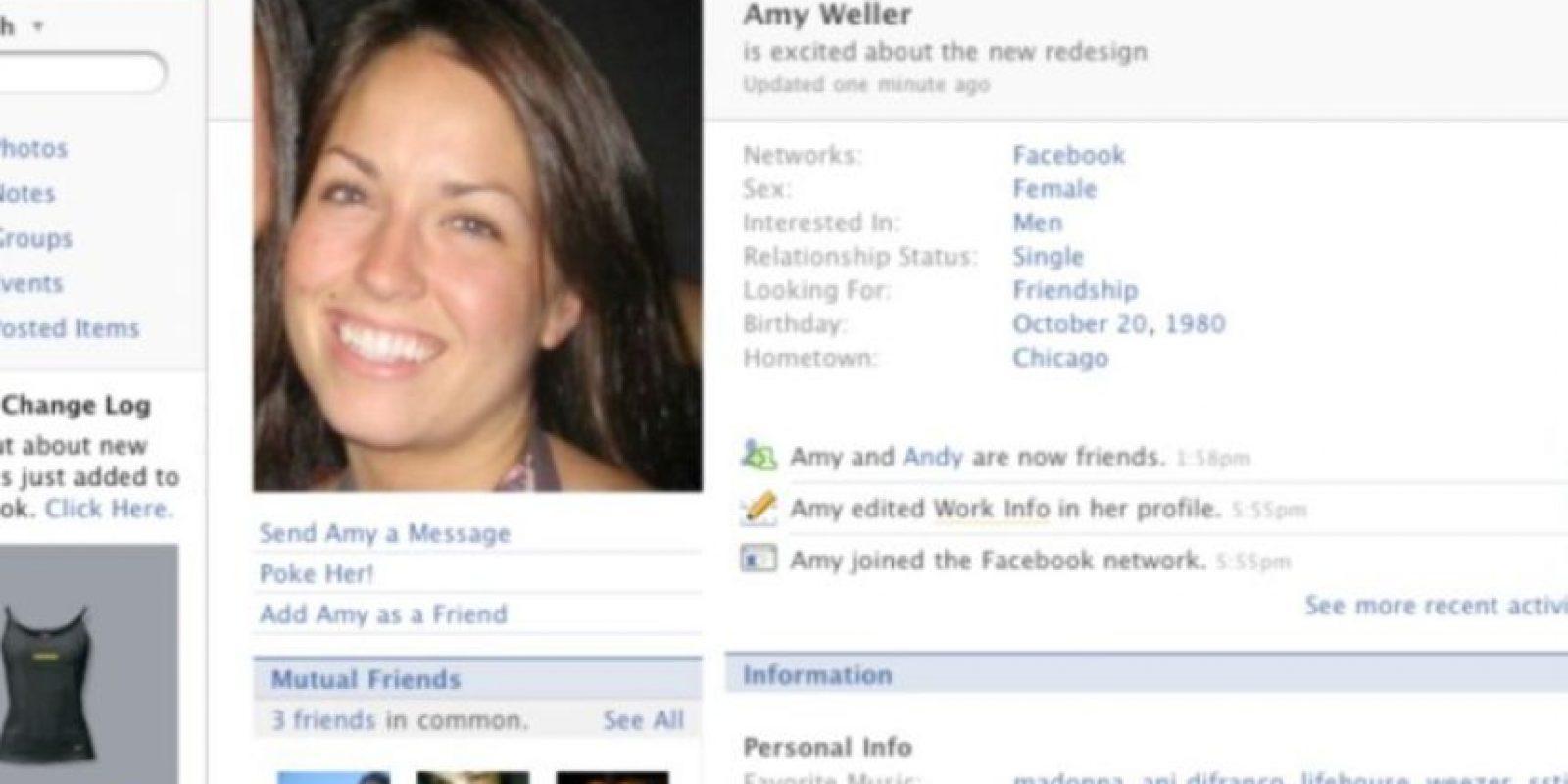 2007. Se le trataba al usuario en tercera persona. Foto:Facebook