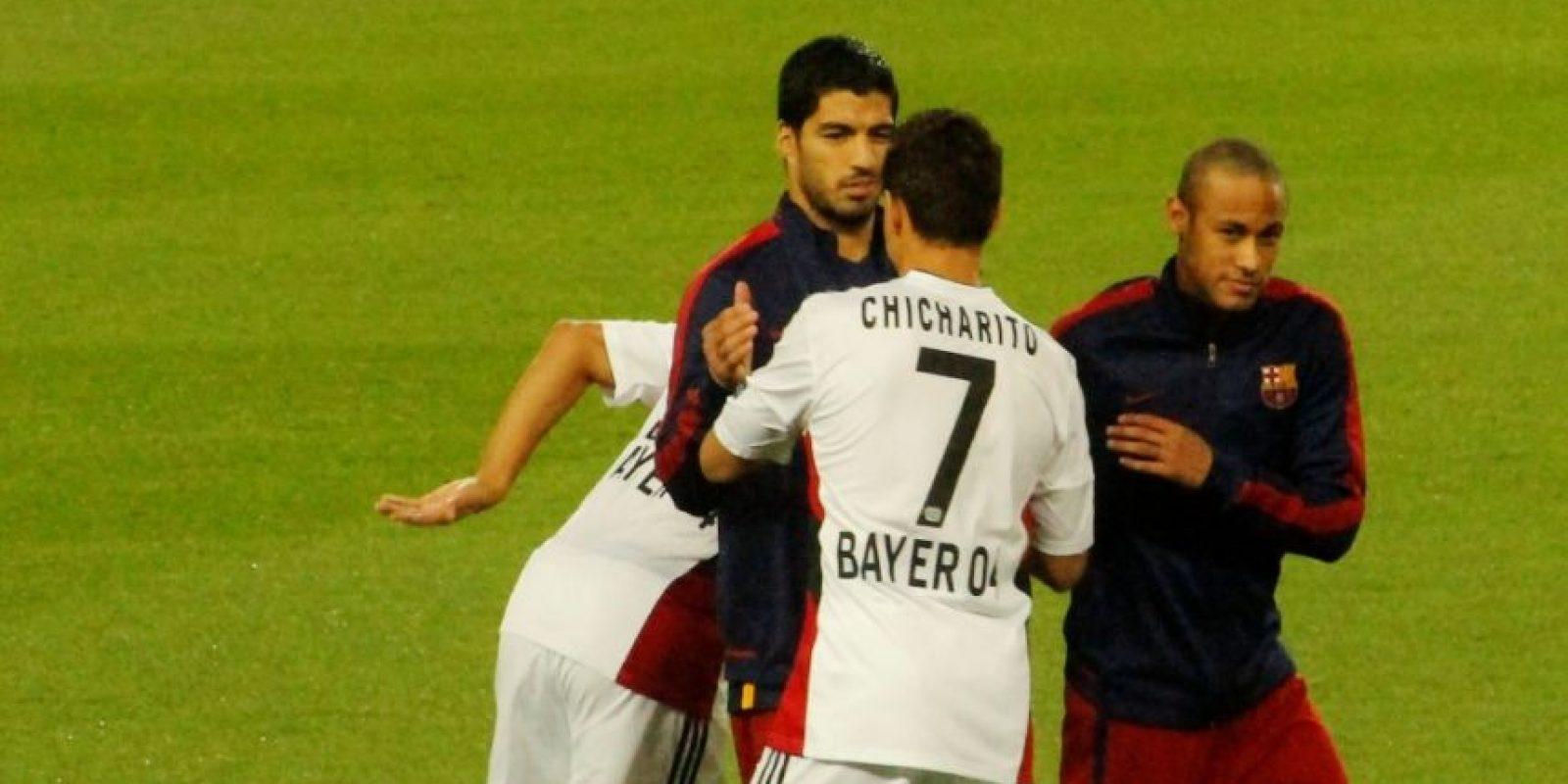 Y al minuto 50′ falló una ocasión clara de gol, lo que le trajo críticas de muchos medios de comunicación en Europa. Foto:Ramón Mompio