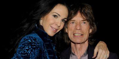 """Llevaba 13 años de relación con el cantante de """"Rolling Stones"""". Foto:Getty Images"""