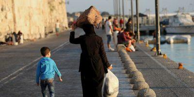 Esto debido de la guerra que se vive en el país. Foto:Getty Images