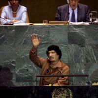 2. Muamar Gaddafi en 2009, dictador de Libia derrocado en 2011 Foto:Getty Images