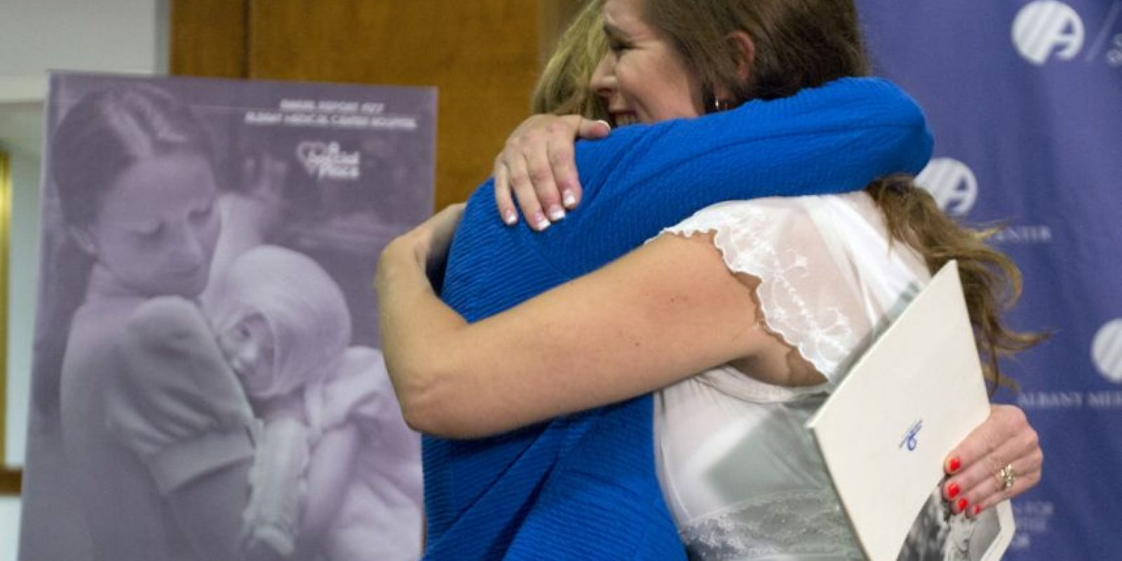 Fue hasta este año que una extrabajadora del Centro Medico de Albany a la desconocida. Foto:AP