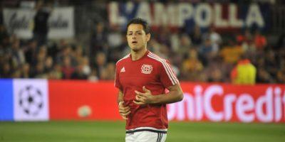 El mexicano saltó a la cancha como uno de los 11 titulares del Leverkusen. Foto:Ramón Mompio