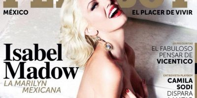 """Ella es la """"Marilyn Monroe"""" latina que posó para """"Playboy"""""""