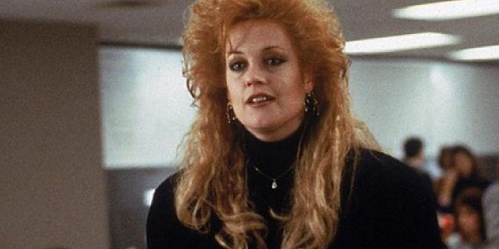Melanie Griffith la pasó bomba en los años 80 antes de Antonio Banderas. Foto:vía Getty Images